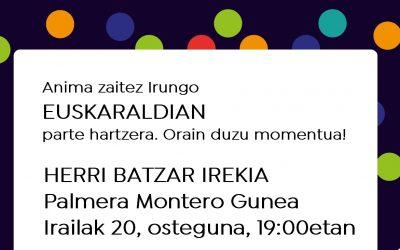 Herri Batzarra Irailaren 20an Palmera Monteron (19:00)